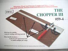 Chopper III - Modeler's & Miniaturist Hobby Cutting Tool #59-4 cutoff large size