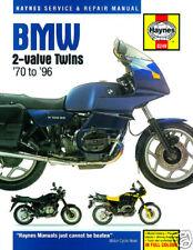 BMW R45 R50 R65 R75 R80 R100 R100RT 1970-1996 Haynes Manual 0249 NUEVO