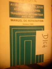 D104- Revue technique TOYOTA Transmission automatique avec pont Octobre 1984