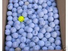 150 USED WHITE RANGE GOLF BALLS, D GRADE PRACTICE BALLS