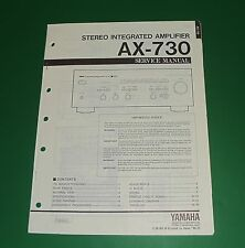 Original Yamaha AX-730 Service Manual