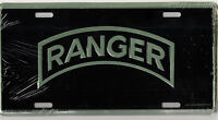 U. S. ARMY LICENSE PLATE - U. S. ARMY RANGER