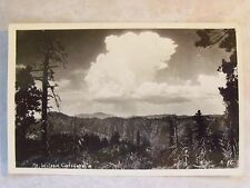 RPPC Mt. Wilson, California! CA Real Los Angeles Photo B&W Postcard CALIF. PC