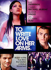 To Write Love on Her Arms (DVD, 2015) Kat Dennings, Chad Michael Murray