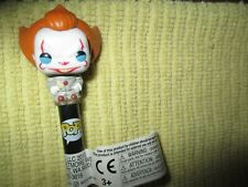 FUNKO POP PENNYWISE CLOWN * IT MOVIE * BALL POINT PEN WITH TAG UNUSED
