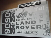 Land Rover DEFENDER Sticker set Vinyl Decal   90 TD TDi