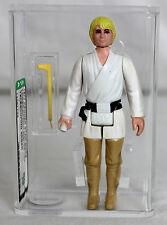 Star Wars Vintage Loose Luke Skywalker w/ Telescoping Lightsaber AFA 80+ NM #130