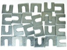 """Ford Body & Fender Alignment Shims- 1/8"""" Thick- 3/8"""" Slot- 24 shims- #399T"""