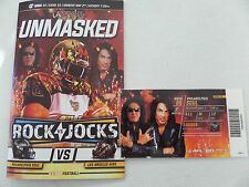 "LA KISS "" FOOTBALL"" PROGRAM 5-2-2016 & SEASON TICKET, WITH PAUL & GENE ON COVER"
