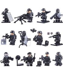 Custom SWAT Minifigures Minifigs Police Military Lego Com Mini-figures