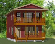 18x40 House - 3 bedroom 2 bath - 1,292 sqft - Pdf Floor Plan - Model 7