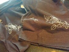 Liz Claiborne- King Size Bed Skirt - Linen/Cotton blend