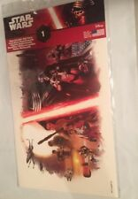 "Disney-Star Wars(The Force Awakens)Repositionable Wall Decal 15"" x 9"" **New**"