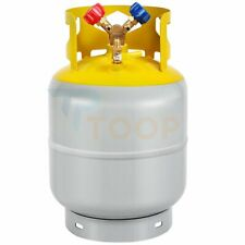 30lb Refrigerant Recovery Tank 400 Psi R410a R134a R22 Y Shaped Valve