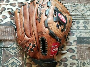 used , Rawlings THE MARK OF A PRO leather baseball glove 13 INCH
