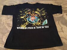 Iron Maiden Piece Promo Shirt Sz S Rock Morbid Satanic Death Metal Slayer 666