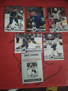 Buffalo Sabres Dave and Adams Promotional Card Pack Game Day Giveaway sealed