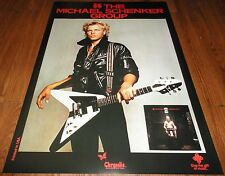 ARMED N READY MICHAEL SCHENKER MSG UFO SCORPIONS DEAN GIBSON FLY V GUITAR POSTER