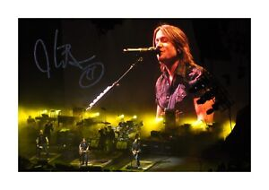 Keith Urban (3) A4 signed landscape photograph picture poster. Choice of frame.