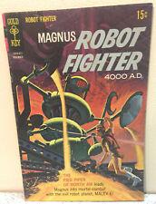 VINTAGE 1968 GOLD KEY COMICS MAGNUS ROBOT FIGHTER 4000 AD # 24 COMIC BOOK NICE