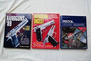 THREE BOOKS ON HANDGUNS
