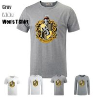 Harry Potter Hufflepuff Badger College Couples T-Shirt Men's Women's Graphic Tee