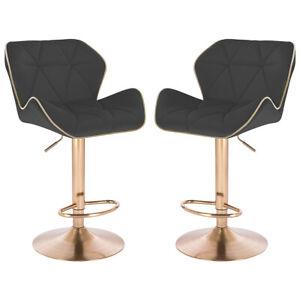 Modern Home Luxe Spyder Adjustable Height Bar Chair/Barstool w/Lift - Set of 2