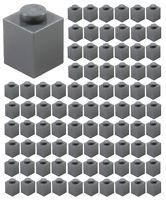 ☀️Lego 1x1 DARK BLUISH GRAY Brick x 100 Stud Part Piece Bulk Lot Legos # 3005