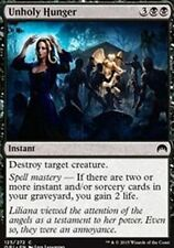 Unholy Hunger X4 NM  Magic Origins  MTG Magic Cards Black Common