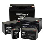 ExpertPower Sealed Lead Acid Battery - 12V 6V 20Ah 18AH 12AH 10Ah 9AH 7AH 5AH