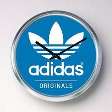 ADIDAS ORIGINALS Wall clock Stainless Steel silent quartz mancave garage shoes