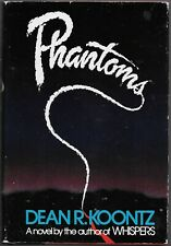 DEAN KOONTZ  Phantoms  rare hardcover book from 1983
