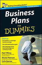 Business Plans for Dummies Portable Edit. Paul Tiffany John Wiley 2011 FREEPOST