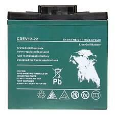 Carrito De Golf Batería Heavy Duty 12V 24AH T-Bar Correa De Transporte Powakaddy campesino
