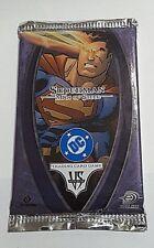 VS system trading card pack DC comics superman man of steel booster upper deck