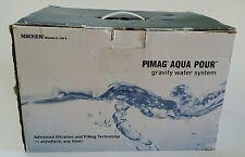 NIKKEN Pimag Aqua Pour Gravity Water System #1360 NIB