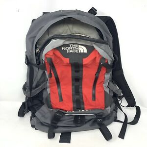 The North Face Big Shot T118/T518 Backpack Ruck Sack Red Gray... GREAT CONDITION