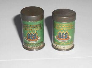 2 Vieux Geg Saucisses Boîtes Pour Maison de Poupée Ou Épicerie De 1930