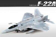 Academy 1/48 Air Dominance Fighter F-22A Aircraft Plastic Model Kit 12212 Hobby