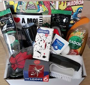 MENS GROOMING GIFT BIRTHDAY FATHERS DAY HAMPER PERSONAL CARE HUG BOX DAD SON