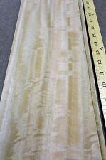 "Eucalyptus Australian Figured wood veneer 5"" x 23"" raw no backing 1/42"" thick"