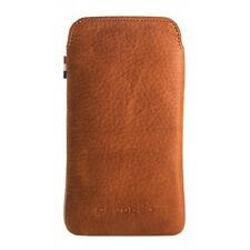 Decoded iPhone 4/4S Leather Pouch - BRUN