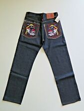 Men's RMC Dark Denim Wave Jeans Straight Leg Relaxed Fit Size W32 L34 NEW
