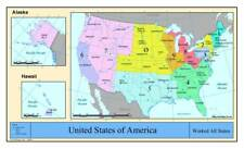 Amateur Radio Worked all States Map