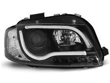 Paire de feux phares Audi A3 8P 03-08 led LTI noir (U98)