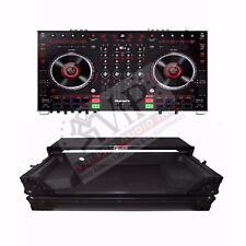 Numark NS6II USB DJ Controller 2x USB, Serato DJ + Flight Case w/ Laptop Shelf