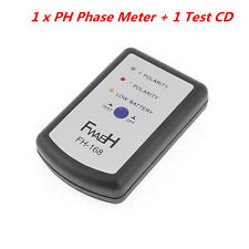 Universal Speaker Polarity Tester PH Phase Meter Car Audio System Phasemeter +CD