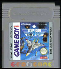 TOP GUN GUTS & GLORY Gameboy Game Boy Versione Spagnola ••••• SOLO CARTUCCIA