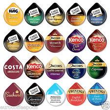 20 x tassimo Variété échantillon de café, thé, choco t-disc, 20 x assortiment de saveurs