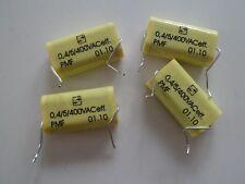 0.56 µF 4x SELECTRONIC MKP-PMF diapositive CONDENSATORE//motore Condensatore 265 Vac
